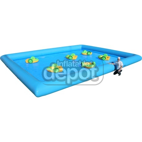 Pileta Inflable con Mini-Botes